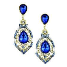 blue chandelier earrings navy blue chandelier earrings eimatco pertaining to house