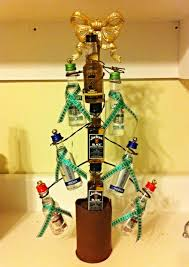 Christmas Tree Ideas 2015 Diy Diy Yankee Swap Gift 15 Limit Nip Christmas Tree Holiday Stuff