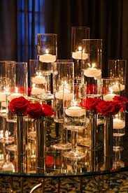 Vase And Candle Centerpieces by Best 25 Rose Centerpieces Ideas On Pinterest Red Rose