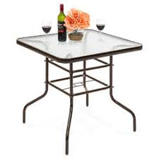 Patio Glass Table Patio Tables Outdoor Tables Sears