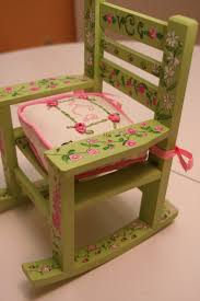 pink kids rocking chair 66 best children u0027s painted furniture images on pinterest painted