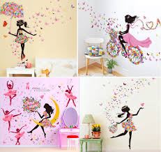 Butterfly Wall Decals For Kids Rooms by Popular Ballet Wall Decals Buy Cheap Ballet Wall Decals Lots From