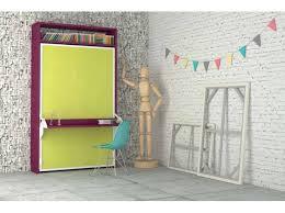lit escamotable bureau intégré armoire lit escamotable aphrodite avec bureau intégré 4ème