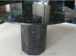 round granite table top blue pearl granite round table from china stonecontact round granite