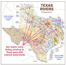 Colorado River Texas Map by Texas Rivers Map Rivers Of Texas