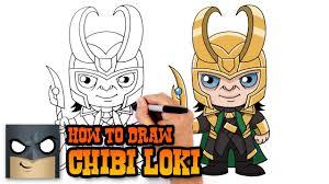 how to draw loki the avengers youtube