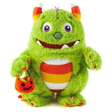 amazon com hallmark roary the candy monster with sound toys u0026 games