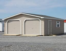 Pine Creek 12x24 Dutch Garage by 2 Car Modular Garages Available Pine Creek Structures
