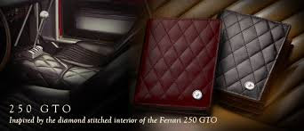 250 gto interior 250 gto collection deluxe wallets inspired by the interior of the