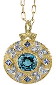 zircon blue necklace images Blue zircon pendants shop genuine blue zircon gemstone necklaces jpg