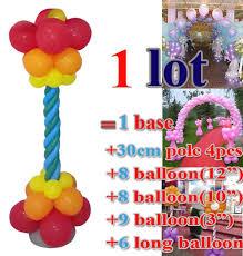 bulk party supplies balloon column set bulk sale wedding party balloon decorations