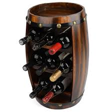 wooden barrel wine rack wooden wine racks for sale at this is it