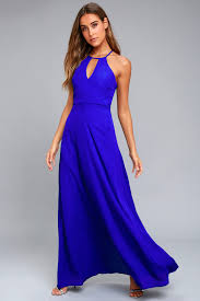 royal blue lovely royal blue dress maxi dress gown formal dress