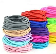hair bands chronex 26 pcs multicolour ponytail holders hair bands for