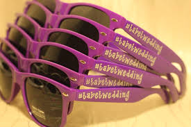 personalized sunglasses wedding favors 100 personalised wedding sunglasses wedding favours personalised