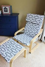 Free Sewing Patterns For Outdoor Furniture by Ikea Poang Chair Slipcover Pattern Patterned Furniture