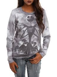 the nightmare before pullover top