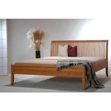 Schlafzimmer Bett 160x200 Holzbett Leon Massivholzbett 160x200 Eiche Natur Massiv Bett