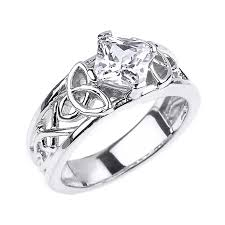 White Gold Cz Wedding Rings by Cz Engagement Rings Gold Cz Engagement Rings White Gold Cz