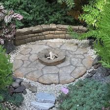 Firepit Pad Miniature Garden Patio Pad Pit