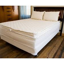 savvy rest unity pillowtop 13 inch organic dunlop u0026 natural