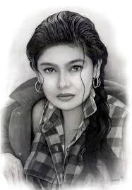 gil ramírez del carbón de leña de pintura de retrato-Pintura y ... - Gil_Ramirez_charcoal_portrait_painting