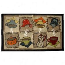Coffee Cup Decoration Kitchen Checkered Coffee Decor Kitchen Mat Rug Carpet Coffee And Kitchens