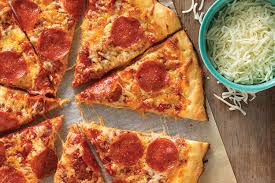 how much is a medium pizza at round table gluten free pizza crust recipe king arthur flour