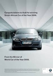 bmw car of the year ad fight bmw audi and subaru in ad grudge match autoblog