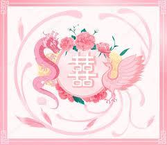 einladung hochzeit sprã che chinesische hochzeit karte einladung rosa drachen phönix mit