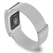 mesh steel bracelet images Fitbit charge 2 milanese loop stainless steel strap strapsco jpg