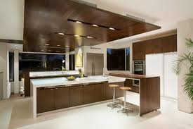 Modern Open Kitchen Design Kitchen Of Modern House With Many Open Areas Home Building