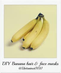 banana hair skin and hair treatments with banana