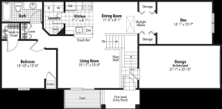 garage apt floor plans 1 bedroom garage apartment floor plans nrtradiant