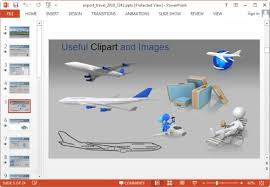 airport powerpoint template free download gavea info