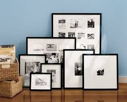 Pottery Barn Picture Frame Pottery Barn Wood Gallery Frames Apartment Therapy
