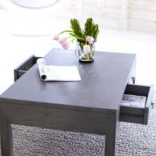 gray wood side table furniture rectangle coffee tables miro grey mindi wood table with