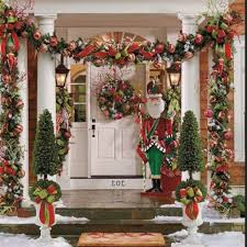 outdoor christmas decorating ideas 24 cheap and simple christmas front porch decorating ideas 24 spaces