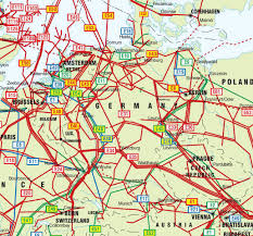 Hamburg Germany Map by Germany Netherlands And Czech Republic Pipelines Map Crude Oil