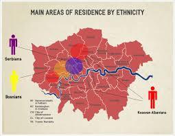 Map Of Balkans Some Figures Balkan Communities In London Hajde London