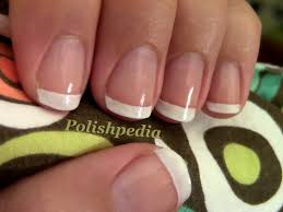 french manicure tips polishpedia nail art nail guide