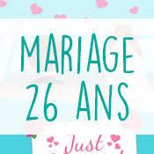 26 ans de mariage carte anniversaire mariage virtuelle gratuite à imprimer