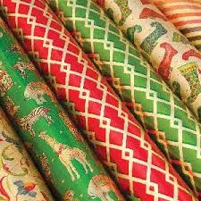 thick christmas wrapping paper entertaining with caspari continuous roll of gift