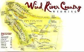 Wyoming rivers images Wind river range absaroka range descriptions JPG