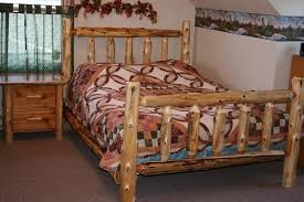 warm and inviting rustic log beds rustic log beds canopy bed