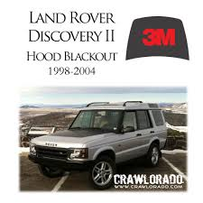 1980 land rover discovery land rover discovery 2 hood blackout decal sticker disco ii ebay