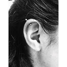earrings on top of ear top ear el capitan piercer