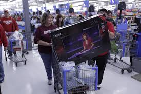 flat screen tv black friday woman with new flat screen black friday 2011
