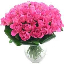 roses bouquet luxury 50 pink roses fresh flower bouquet collection of