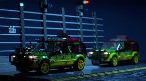 jurassic park car trex lego ideas jurassic park 25th anniversary t rex paddock breakout